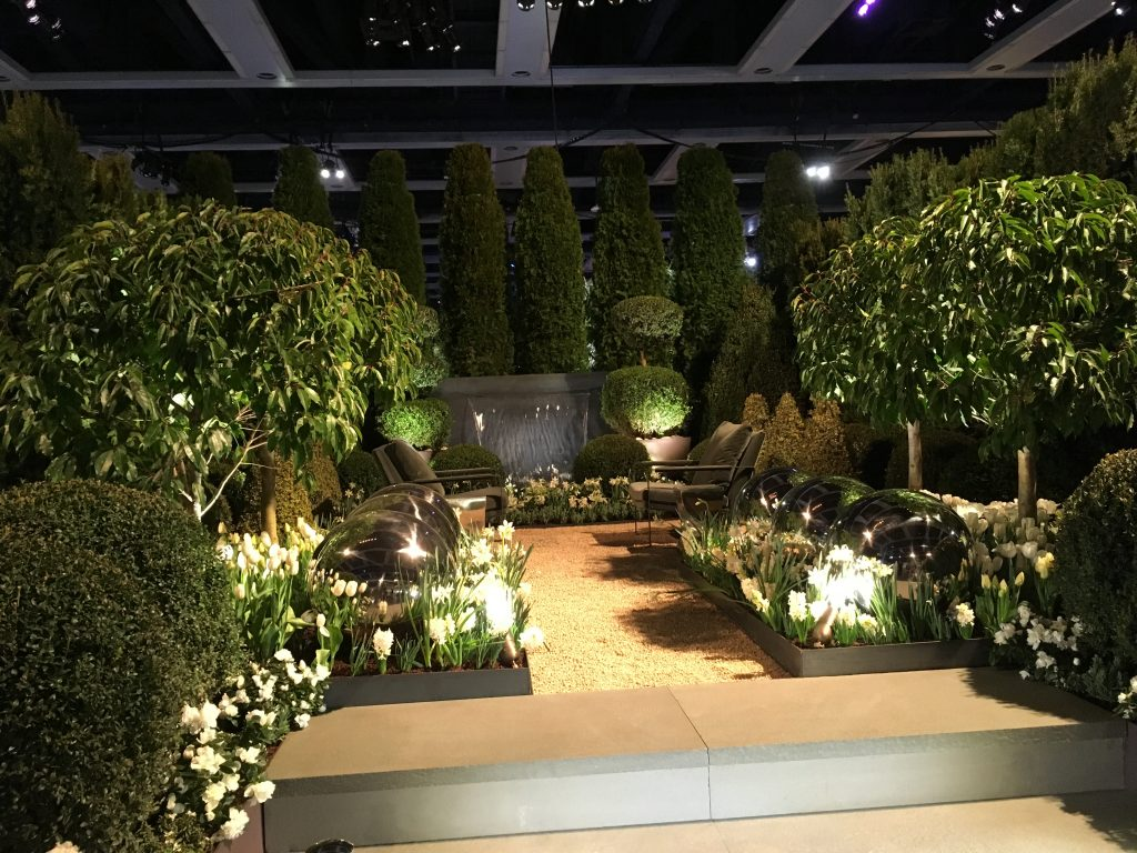 Northwest Flower and Garden Show demonstration garden in 2019