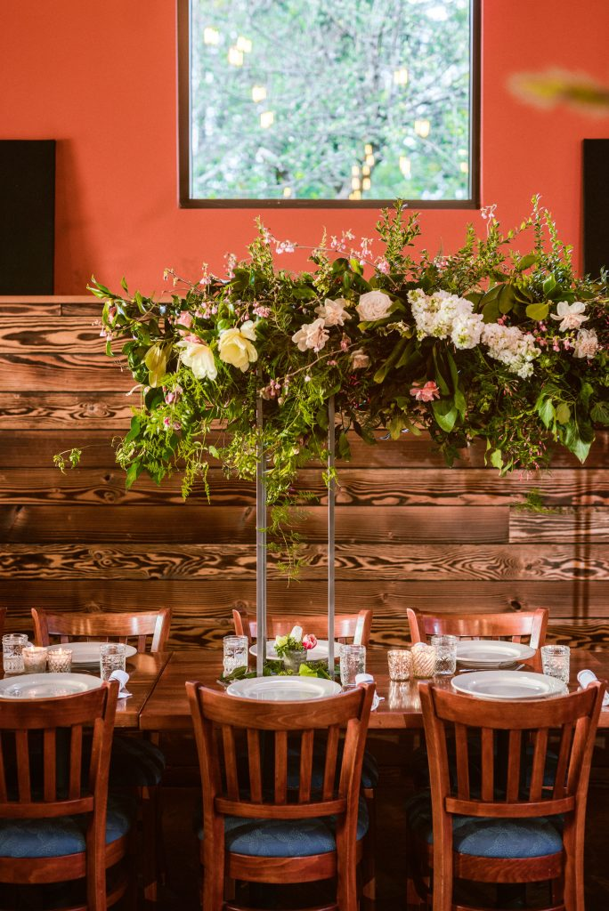 wedding budget depends on number of people and flowers