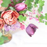 sustainable floristry in foam-free arrangement with no floral foam