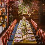 covid wedding floral chandelier small wedding small covid wedding minimony micro wedding covid seattle wedding seattle florist seattle wedding flowers wedding florist