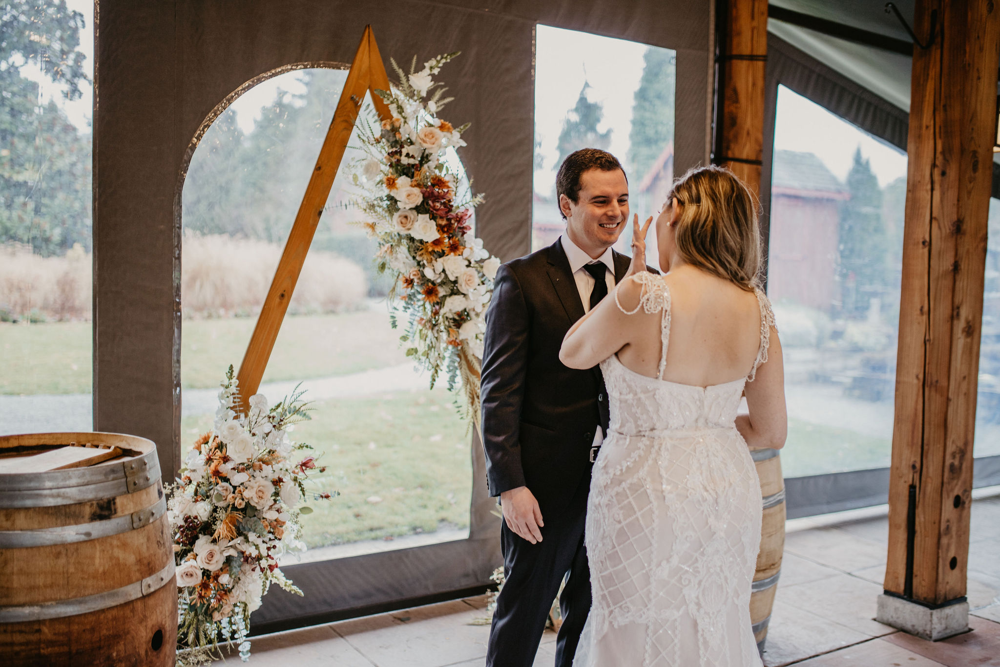 willows lodge woodinville wedding florist